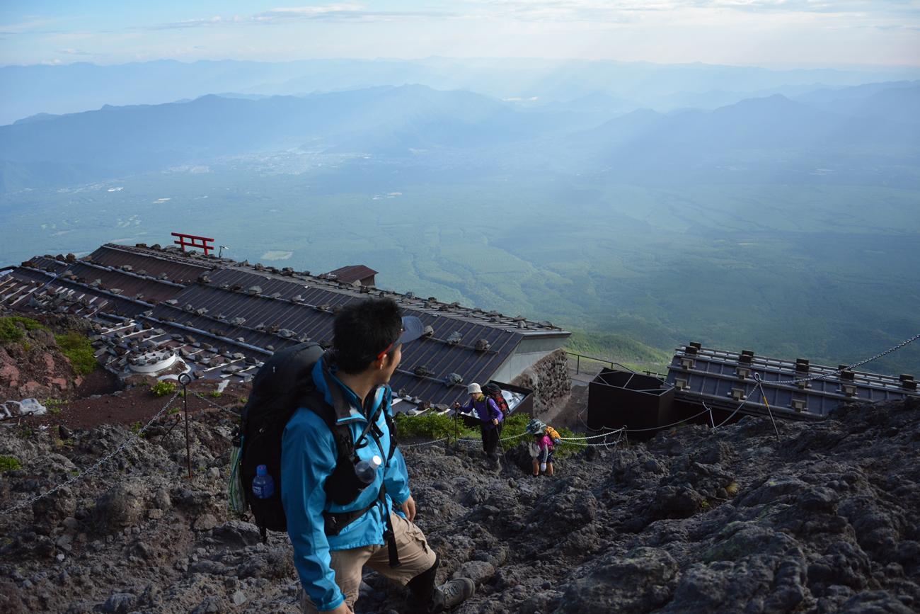 富士山(吉田ルート) 登山