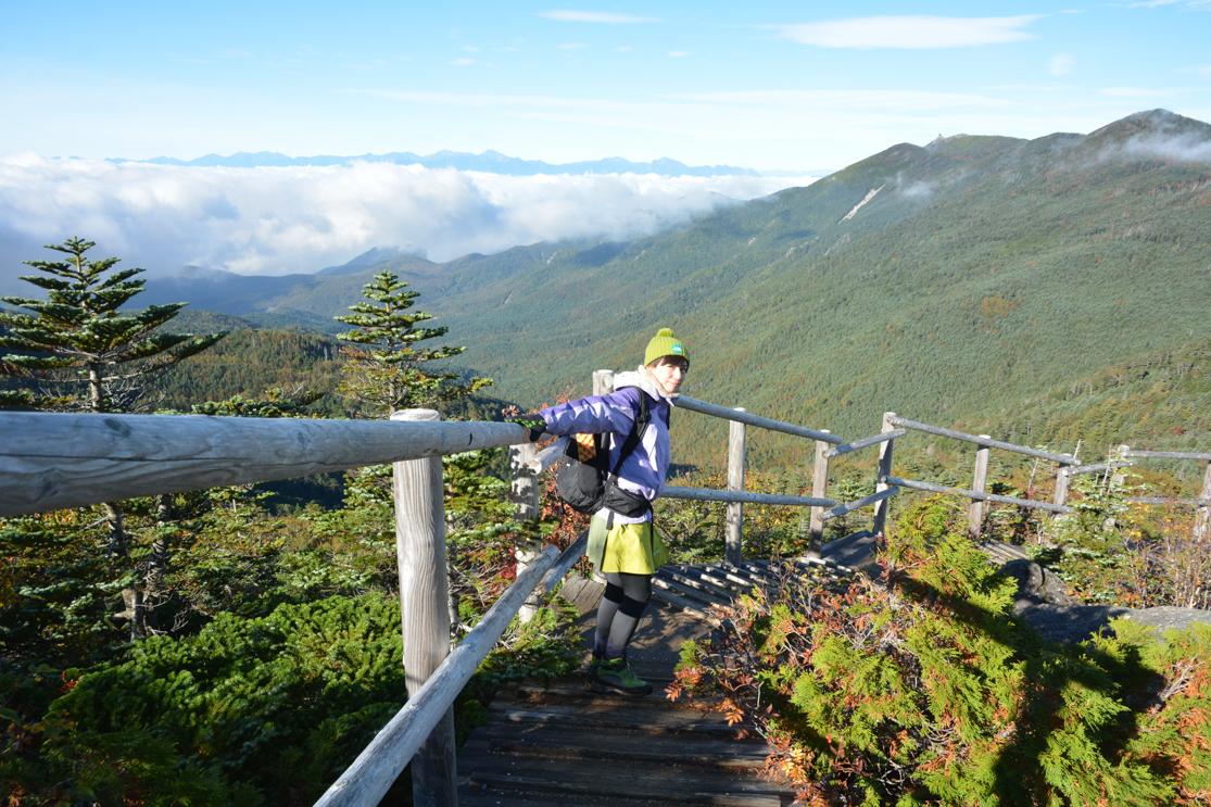 国師ヶ岳 登山